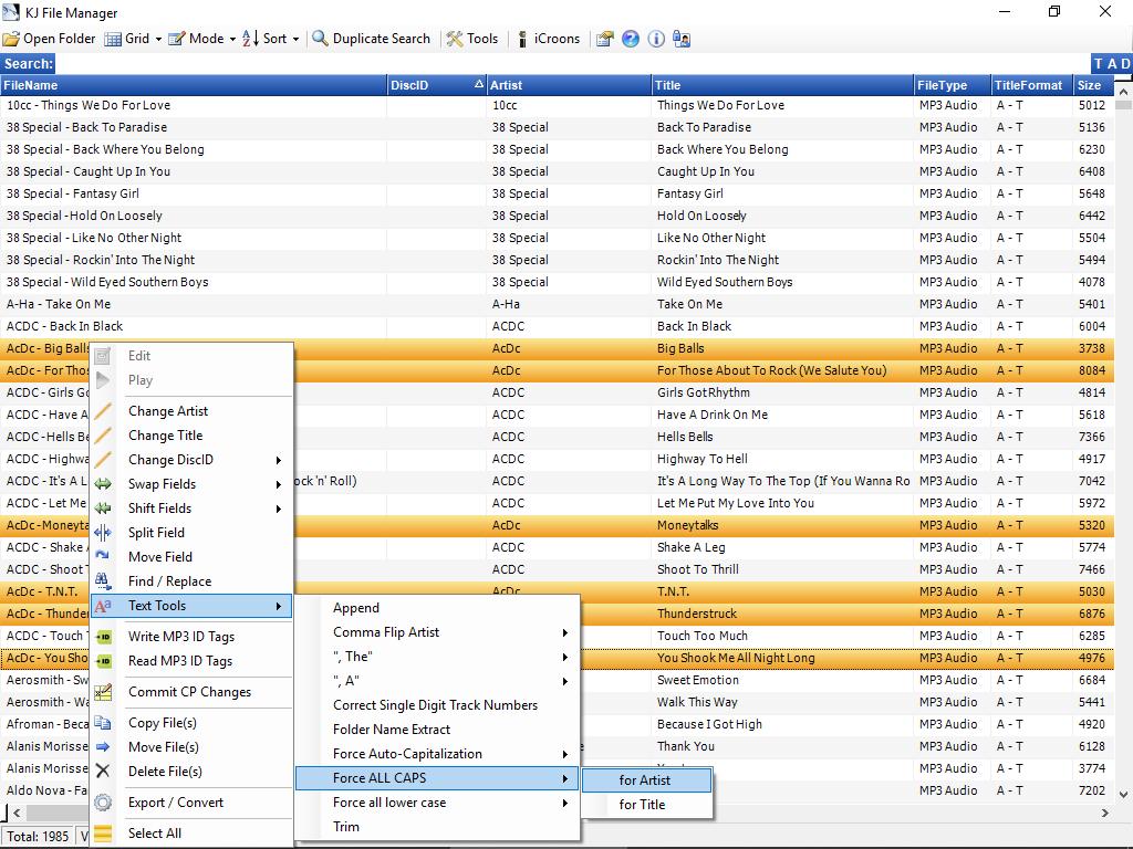 KJ File Manager 3.6.6 full